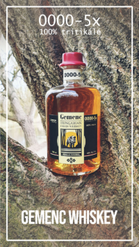 Gemenc whiskey 5X