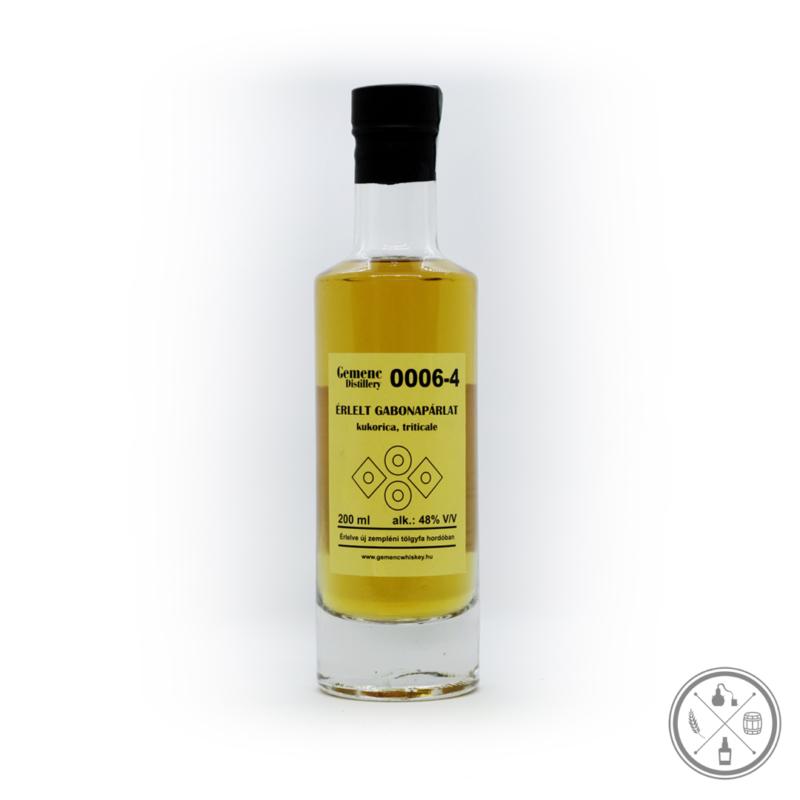 Gemenc 0006-4 gabonapárlat (48% - 0,2 Liter)