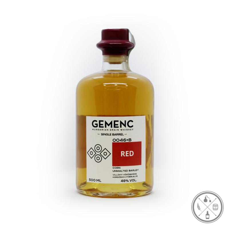 Gemenc RED (48% - 0,5 Liter) - körüvegben